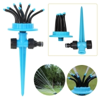 Buy cheap Water Spray in 12 Directions 360° Rotating Lawn Sprinkler Automatic Garden Water Sprinklers Lawn Irrigation Generic from wholesalers