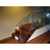 Buy cheap Stainless steel handrail glass balustrade system from wholesalers