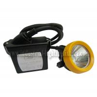 Buy cheap Portable LED Miners Head Lamp 3.7V KL5LM , CE LED Mining Lights IP67 from wholesalers
