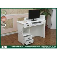 Buy cheap Commercial  Store Front Counter Furniture mdf reception desk white from wholesalers
