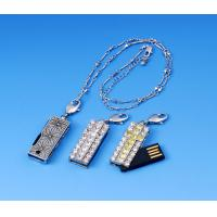 Buy cheap Crystal Diamond Free USB Sample Flash Drive CE FCC from wholesalers