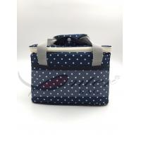 Buy cheap White Dots Soft Sided Insulated Cooler Bag / Insulated Neoprene Lunch Bag For Adults from wholesalers