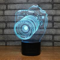 Buy cheap Novelty gift item 3D acrylic led small night light, table lamp night lamp with usb charging from wholesalers