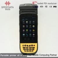 Buy cheap Android Pos Industrial PDA Handheld Thermal Printer For Fmcg Logistics & Express from wholesalers