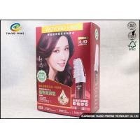 Buy cheap Fashion 4 Colors Hair Dye Product Paper Packaging Box Gloss Lamination from wholesalers
