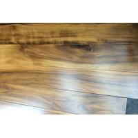 Buy cheap smooth surface acacia tigerwood hardwood flooring from wholesalers