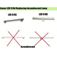 Buy cheap Dimmable S14S LED lamp 4.5W 500mm 300mm ledinestra s14 from wholesalers