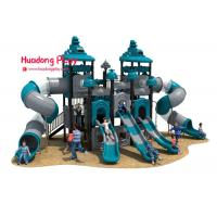 Buy cheap High Strength Outdoor Playground Slides , Play Structure Slide Food Grade Plastic from wholesalers
