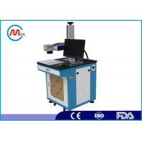 Buy cheap 1064nm Laser wavelength Fiber Laser Marking Machine 20w with rotating system MAX laser source from wholesalers