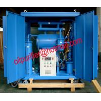 Buy cheap Contaminated insulating oil purifier machinery through the dehydrator, degasification from wholesalers