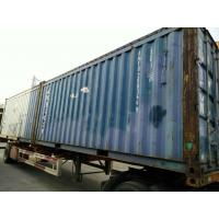 Buy cheap 40 Ft / 20 Ft Old Prefab Container Housefor Storage Red In Steel from wholesalers