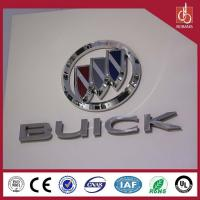 Buy cheap Famous brands luxury high quality vacuum moulding thin light custom wholesale car logo from wholesalers