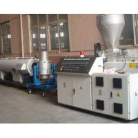 Buy cheap 20-630mm PVC PIPE production line EXTRUSION LINE(CE MARK) Suitable to U-PVC,C-PVC,M-PVC pipe extrusion from wholesalers