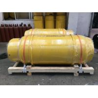 Buy cheap 500KG ,1000kg 400L 840L chemcial storage tank,  chlorine gas cylinder   ,refrigerant gas tank  ammonian tank with VALVES from wholesalers