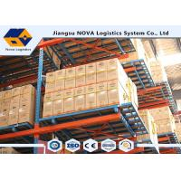 Buy cheap Cold Rolled Steel Adjustable Pallet Racking , Heavy Duty Rack ShelfWith Long Life Span from wholesalers