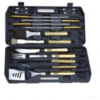 Buy cheap 18pcs Bbq Tools With Plastic Case Pack from wholesalers