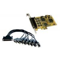 Buy cheap Automatic XON / XOFF Flow control rs232 pcie x1 PCI-e serial card with 8 serial port from wholesalers