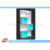 Buy cheap Books White Wood Display Cases  from Wholesalers
