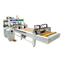 Buy cheap HF(RF)Pass-Through Type Wooden Board Joining and Frame Joining Machine from wholesalers