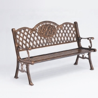 Buy cheap Park Street Furnitures EN840 Cast Aluminium Garden Bench from wholesalers