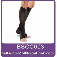 Buy cheap compression knee high open toe socks,therapy socks from wholesalers