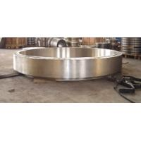 Buy cheap Precision 20CrMnMo Forged Steel Rings Big Diameter / Rolled Ring Forgings product