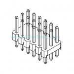Buy cheap 2.54mm triple row DIP pin header from wholesalers