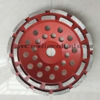 Buy cheap 7 inch diamond cup grinding wheel from wholesalers
