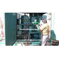Buy cheap Mobile Vacuum Transformer Oil Filter Plant   On Site Dielectric Oil Treatment Unit ZYD from wholesalers