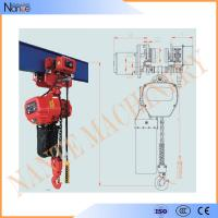Buy cheap Remote Control 20 Ton / 30 Ton Electric Chain Hoist With Running H Beam from wholesalers