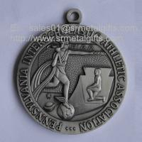 Buy cheap Antique pewter metal Athletics medals for sale, engraved athletic event medals, from wholesalers