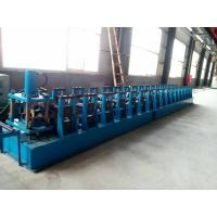 Buy cheap GI. Carbon Steel Top Hat Channel Roll Forming Machine With 1.5 Inch Chain of Transmission product