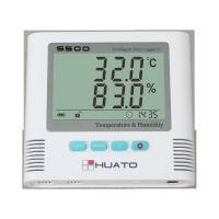 Warehouse Temperature And Humidity Data Logger : Sound light alarm import sensor high accuracy server room