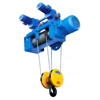Buy cheap Portable Standard Headroom Trolley Wire Rope Hoists SH Type 1/4 Fall For Single Girder from wholesalers