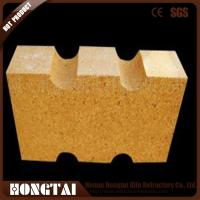 Buy cheap Blast furnaces and hot blast furnaces used low porosity fire clay brick from wholesalers
