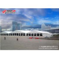 Buy cheap Fire Resistance White Marquee Tents For Outside Events PVC Coated Fabirc Top Cover from wholesalers