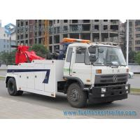 Buy cheap Dongfeng 153 Heavy Duty Road Wrecker Truck INT 16 Recovery Truck Body 16 Ton Boom from wholesalers