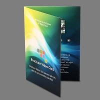 China 5 Inch Lcd Video In Print Brochure Personalized Video Greeting Cards on sale