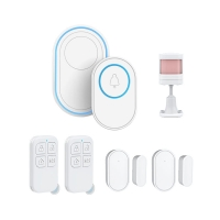 Buy cheap Tuya Smart 433Mhz PIR WiFi Security Alarm System from wholesalers