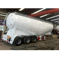 Buy cheap Bulk Cement Tank Semi Trailer For Transportation , Tanker Truck Trailer 40cbm Capaciy from wholesalers