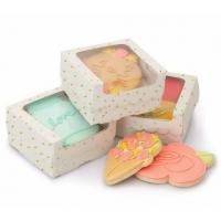 Buy cheap Dessert Cupcake Packaging Boxes / Paper Food Gift Boxes With Custom Design from wholesalers