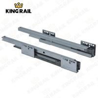 Buy cheap Double Steel Wall  Soft Close / Self Close Drawer Slides System KRS02 from wholesalers