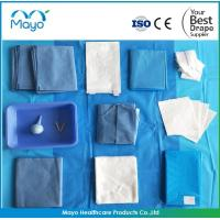 Buy cheap 2019 hot sale CE ISO FDA seterile disposable surgical obstetrical drape pack , OB pack from wholesalers