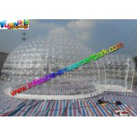 Buy cheap Superior Safe Inflatable Transparent Tent Clear 6.6m Inflatable Bubble Tent from wholesalers