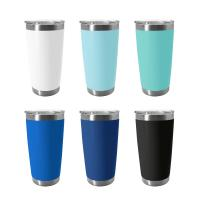Buy cheap Hot Cold Stainless Steel Vacuum Mug , Stainless Steel Coffee Cup Pantone Color from wholesalers