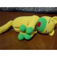 Buy cheap Hand Knitted Toy Monkey Knit Soft Toy Yellow Knit Monkey Kids Knitted Toy Knitted Animal S from wholesalers