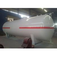 Buy cheap 25 Tons LPG Storage Tanks 50 cbm 50000 Liters Propane Gas Tank For Storage from wholesalers