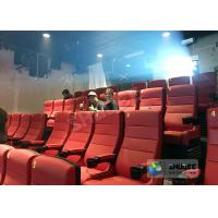 Buy cheap Commercial 220V 4D Cinema System With Hollywood Movies / 4D Home Theater Seats product