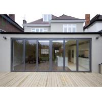 Buy cheap America Market Veranda Aluminium Folding Door With Double Low-E Glass from wholesalers