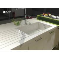 Buy cheap Calacatta Pattern White Quartz Countertops That Look Like Marble For Kitchen from wholesalers